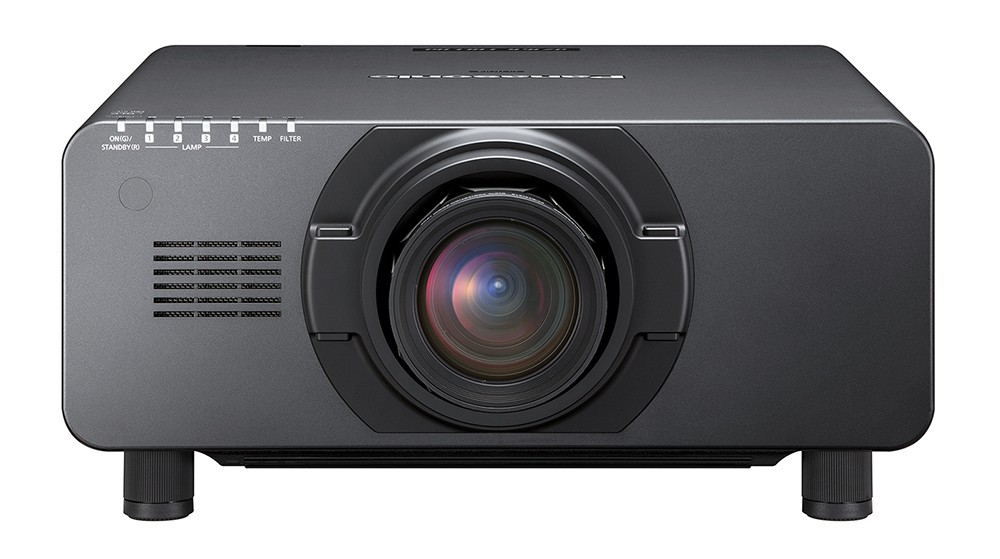 Panasonic PT-DZ16K2E Full HD 16,000 Lumens Quad Lamp 3-Chip DLP Projector