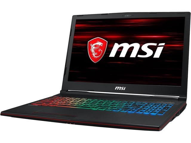 MSI GP63 Leopard-602 15.6'' 8th Gen Intel Core i7-8750H, 8GB DDR4 1TB HDD, Nvidia GeForce GTX 1060 6GB