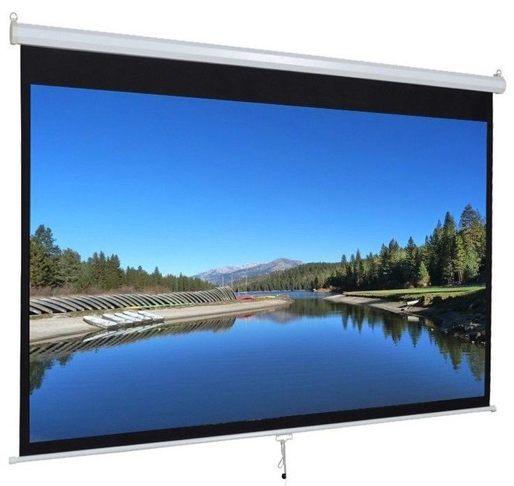 "Anchor ANDMS160 89"" Diagonal Manual Projector Screen"