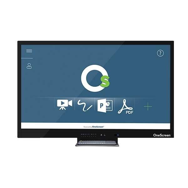 "OneScreen Canvas 75"" 4k UHD TouchScreen - 20 Points Touch"