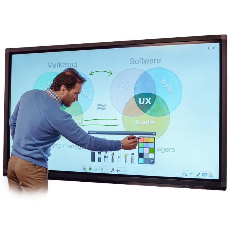Prestigio 55'' Interactive Multi Touch Led PMB554H557
