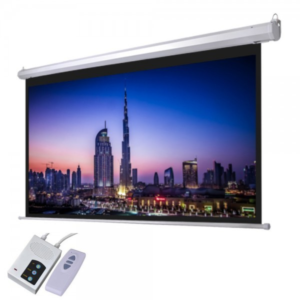 "Iview / 7Star 100"" Diagonal Electrical Projector Screen"