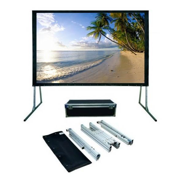 "Anchor ANFF150D 150"" Diagonal Easy Fold Projector Screen"