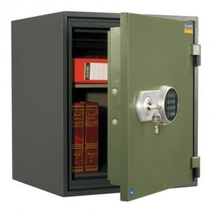 VALBERG FRS-51 EL FIRE RESISTANT SAFE, DIGITAL & KEY LOCK
