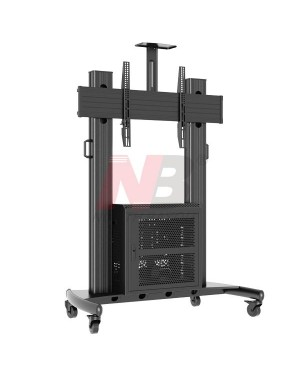 TV Cart AVG1800-60-2A NorthBayou Aluminum Mobile Workstation