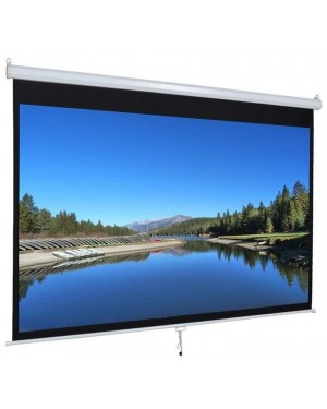"Anchor ANDMV160 80"" Diagonal Manual Projector Screen"