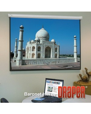 "Draper Accu Screens 100"" Diagonal Electrical Projector Screen"