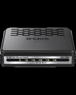 D-Link DES-1005A 5-Port 10/100BASE-T Unmanaged 10/100 Mbps Ethernet LAN Network Switch.