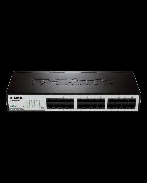 D-Link DES-1024D 24-Port Fast Ethernet Unmanaged Desktop/Rackmount Network Switch