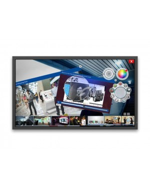 NEC 80''E-Series Large Format Display 350cd/m2 Edge LED Backlight 12/7 10 Point ShadowSense TouchScreen