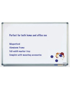 Magnetoplan Magnetic Whiteboards 150cm x 100cm