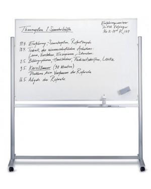 Magnetoplan Mobile Magnetic Whiteboard 180cm x 120cm
