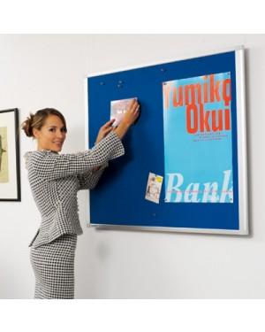 Legamaster Dynamic Felt Pinboard 60x90 cm blue