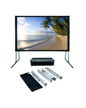 "i-View Fast Fold Projection Screen 400 x 300 (200"" diagonal)With Front & Rear Projection"
