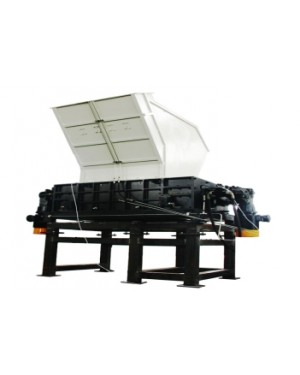 Wood Shredder Double Shaft Heavy Duty Shred Pallet, Wood Boxes, PlyWood ETC