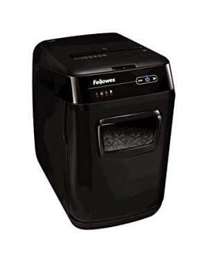 Fellowes AutoMax 130C 130-Sheet Cross-Cut Auto Feed Shredder