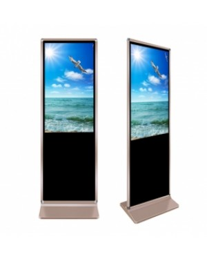 Stand Alone Digital Signage 43'' Classical Style Advertising Board Android 7.0 Version Display