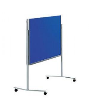 Legamaster Professional Mobile Moderation Board 150x120cm Dark Blue