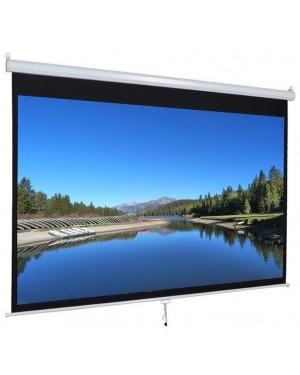 "Iview 180cmX180cm 96"" Diagonal Manual Projector Screen 1:1 Format"
