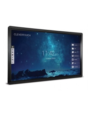 Clevertouch 75'' Plus Series 4K High Precision LUX user interface 15475LUXHP Touch Screen