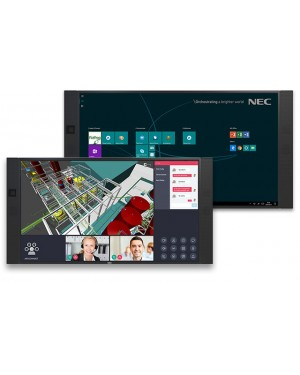 """NEC InfinityBoard 84"""" 4K UHD All-in-One Collaboration Solution"""