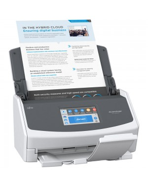 Fujitsu iX1500 ScanSnap Desktop Scanner for PC and Mac, 25 Pages per Minute wifi Scanner