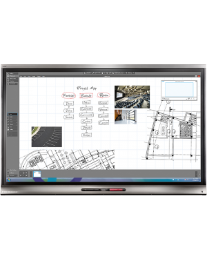 Smart KAPP IQ Pro 75'' Advanced functionality Display