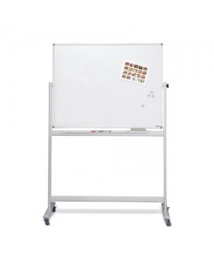 Magnetoplan Mobile Magnetic White Board 120cm x 90cm
