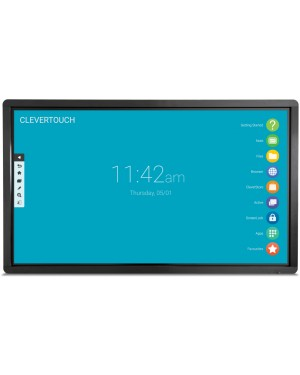 """Clevertouch Pro 65"""" 4K 20-Point Touch Pro-IR65"""
