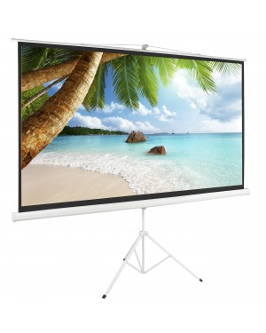 "Iview / 7Star 200cmx200xm 112"" Diagonal Tripod Projector Screen"