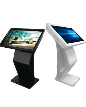 Stand Alone Signage 55'' Multi Touch Screen All In One Kiosk Android 7.0 Version Display