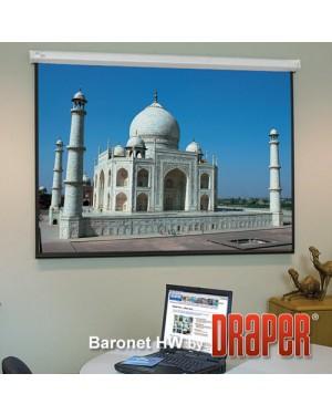 "Draper Baronet 109"" Diagonal Electrical Projector Screen"